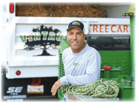 red frey, owner and operator of Vintage Tree Care in Santa Rosa